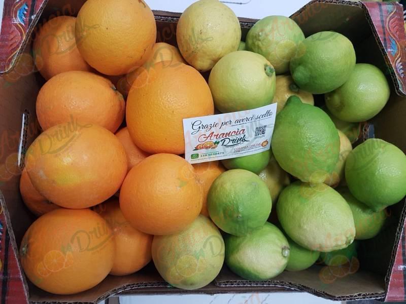 Pacco Misto Arance Navel e Limoni